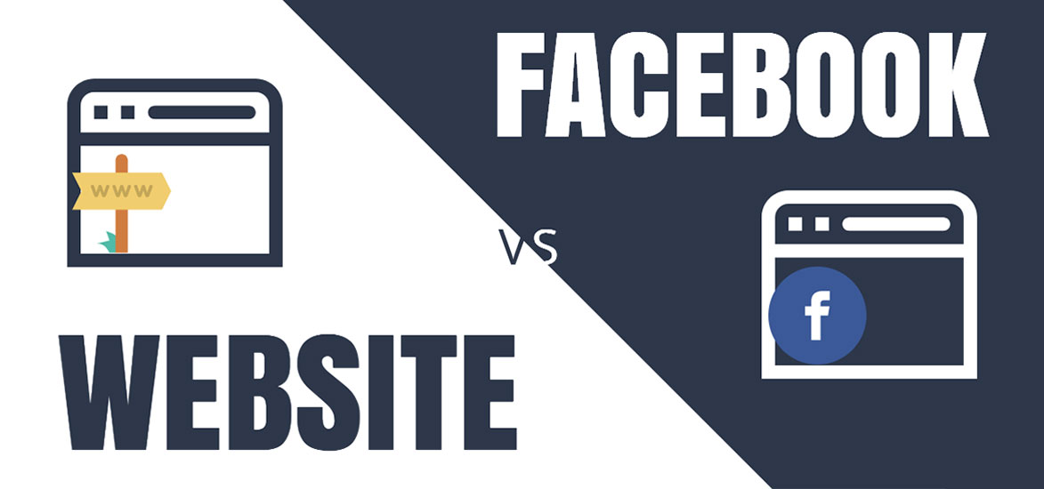 website vs facebook page